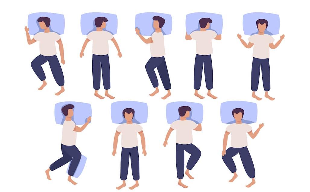 นอนท่าไหนดีที่สุด